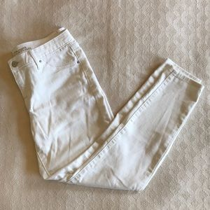 White Mid-Rise Jegging Mossimo